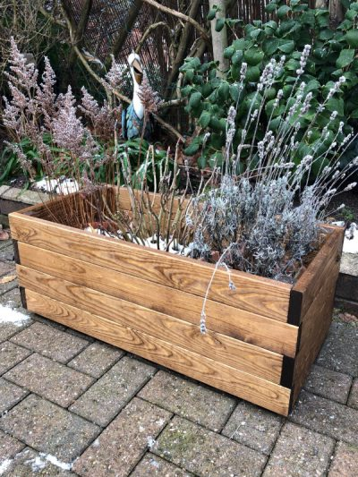 Rectangular planter - PL04