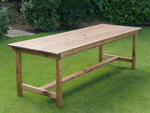 Large rectangular garden table - TB59