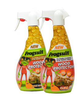 Riverco Garden Furniture protected by Frogsuit Wood Protector