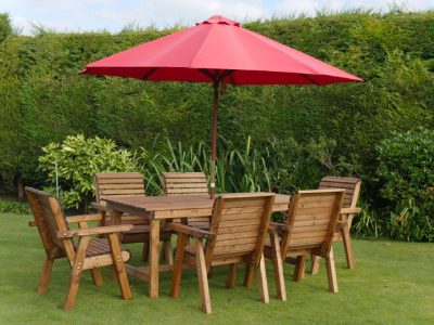 Six seater garden patio set DR01