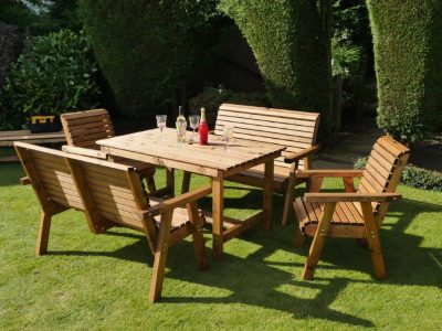 Six Seater Garden Patio Set - DR03