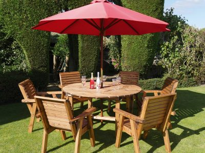 Six seater garden patio set - DR05
