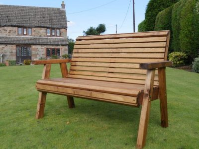 Two seater garden bench - DR11