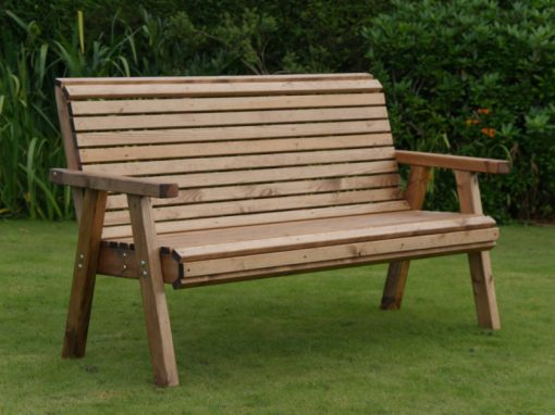 Three seater garden bench - DR12
