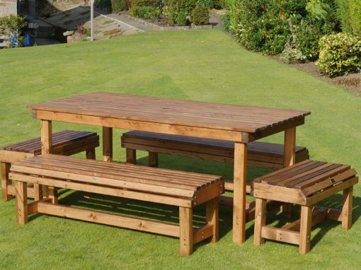 Six seater garden patio set DR22