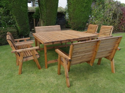 Eight seater garden patio set - DR26