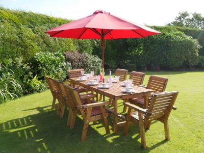 Eight seater garden patio set - DR30