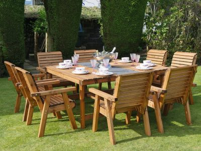 Eight Seater Garden Patio Set - DR24