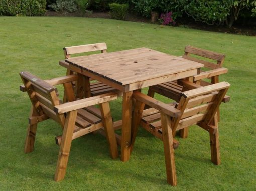 Traditional Four seater bistro set -TR44